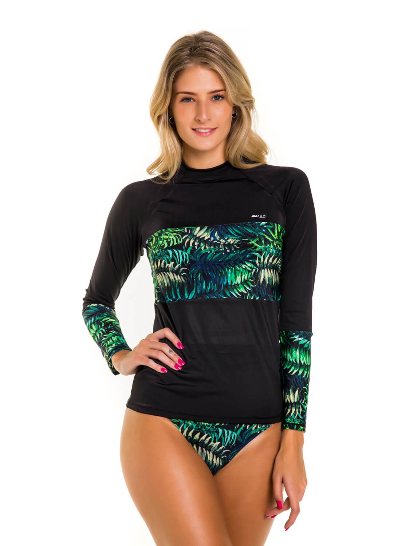 Kit Muvi Camisa Slim Proteção Solar Biquíni Top e Calcinha Cacimba FPU 50+