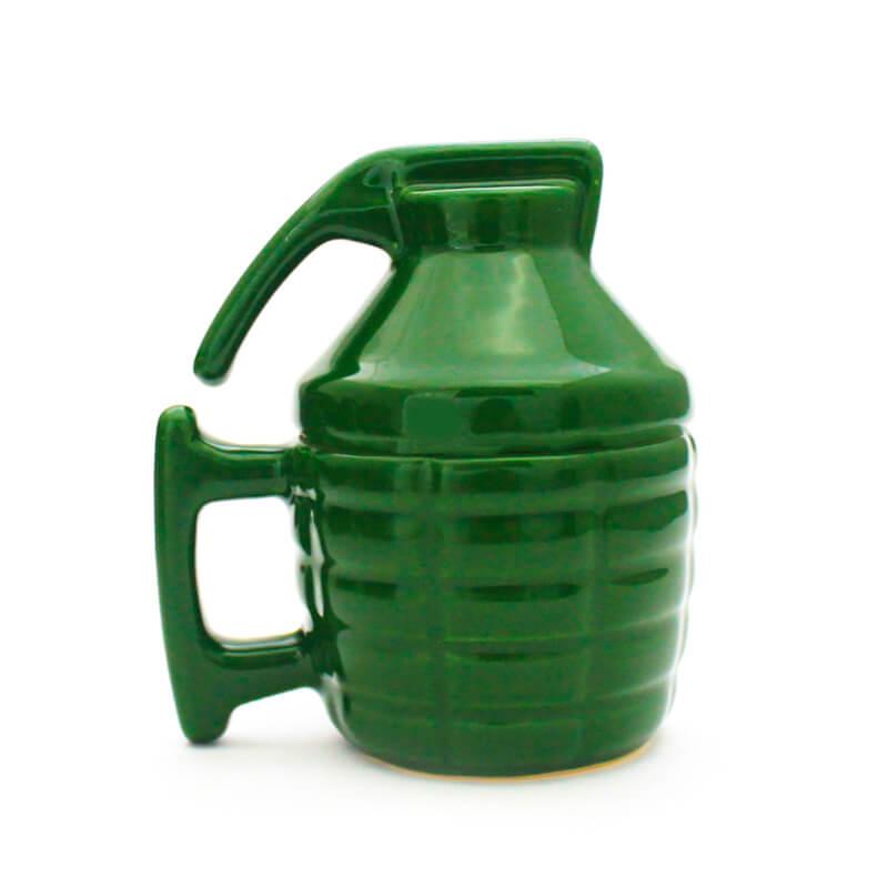 Caneca 3D Explosiva Verde 150ml