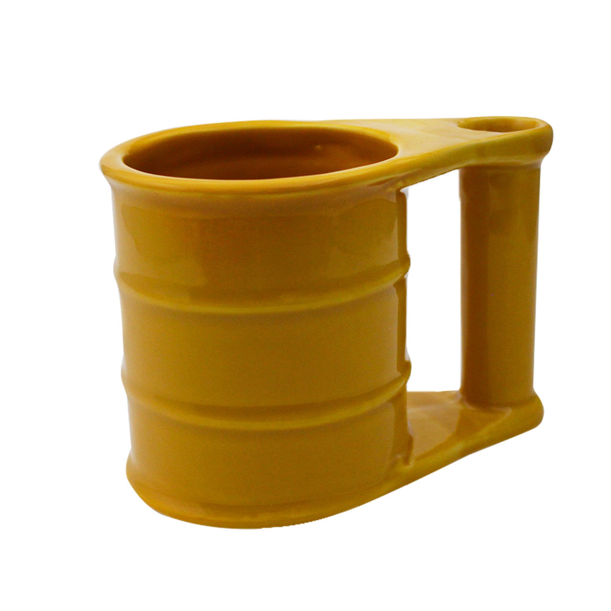 Caneca 3D Tambor Amarelo 500ml