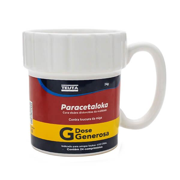 Caneca Paracetaloka 330ml