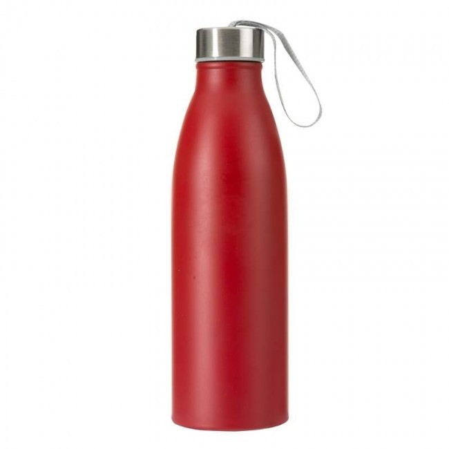 Garrafa Inox 750 ml Vermelho Fosco