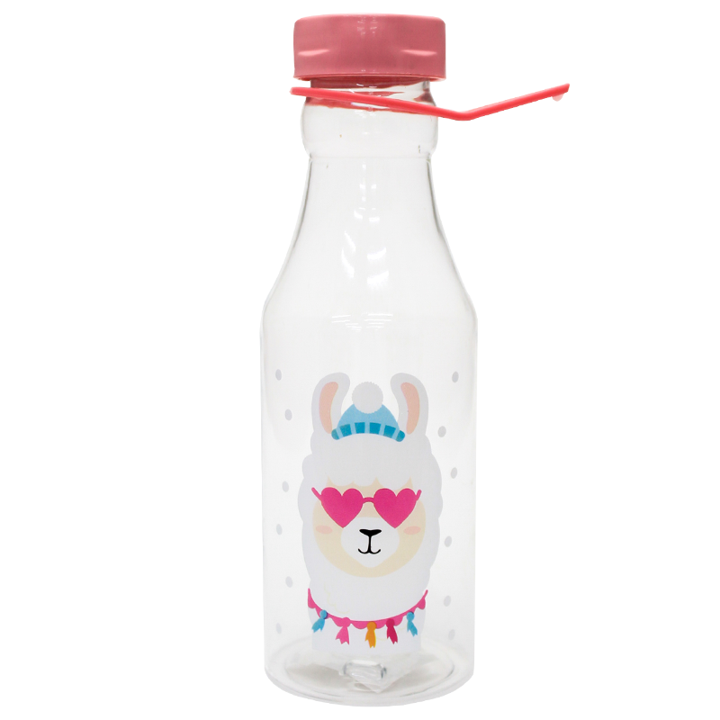 Garrafa Plastica C/ Alça 450 ml Lhama