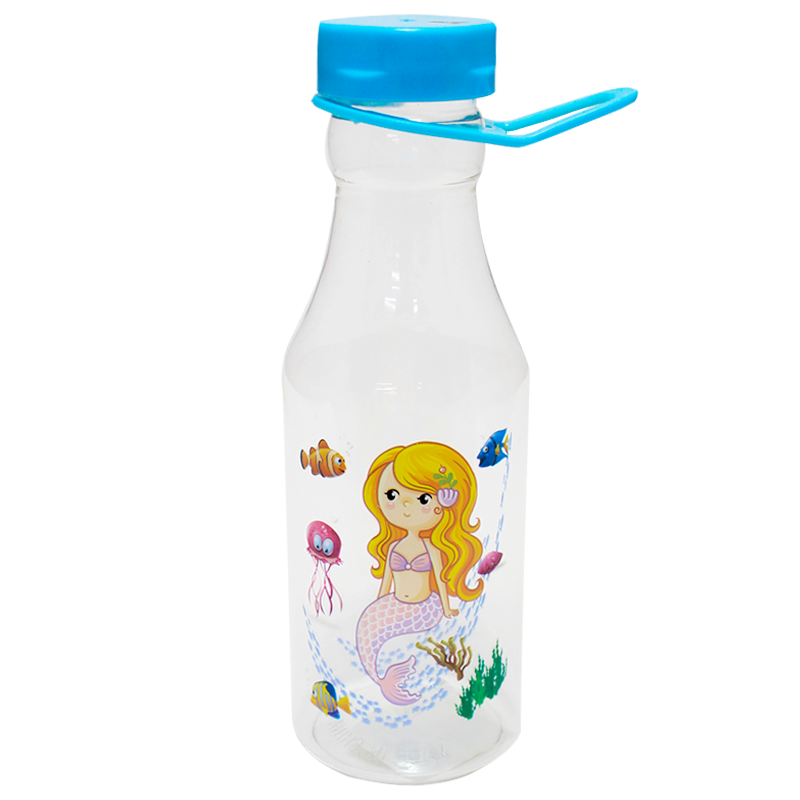Garrafa Plastica C/ Alça 450 ml Sereia