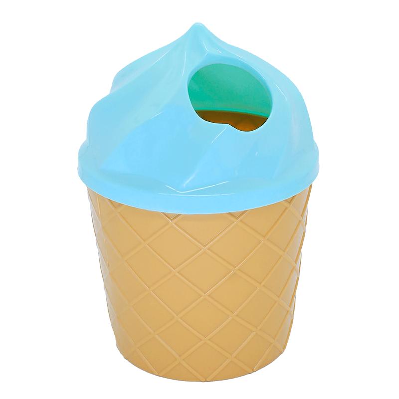 Lixeira Sorvete Plástico Multiuso