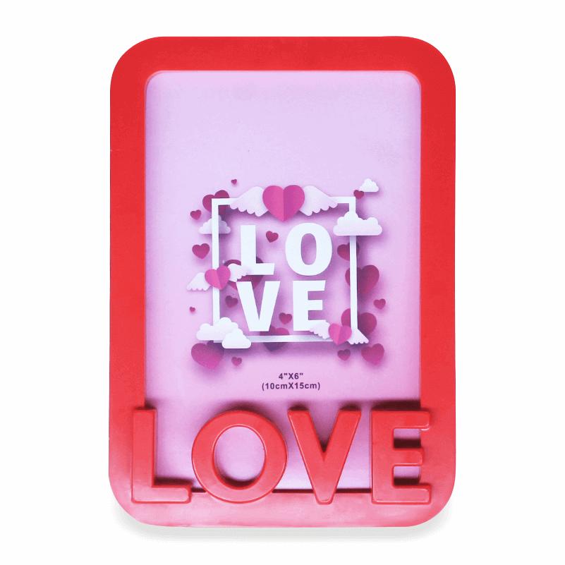 Porta Retrato Love Plástico