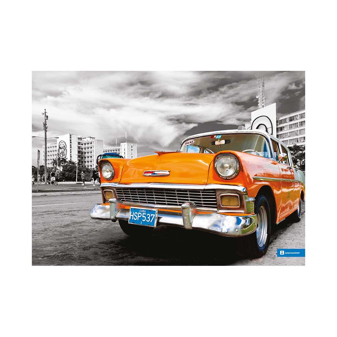 Quadro Decorativo Metal 40x30cm Carro02