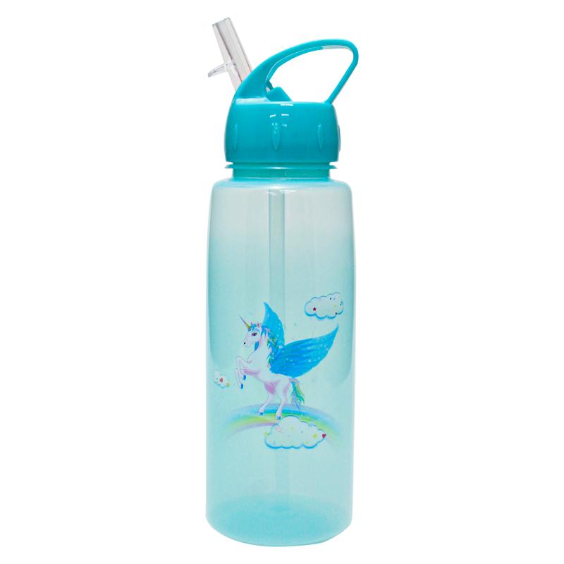 Squeeze Plástico C/ Bico 650 ml Unicornio