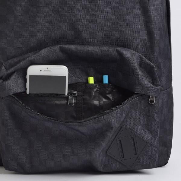 Mochila Vans Old Skool III Backpack Black Charcoal - VN0A3I6RBA5