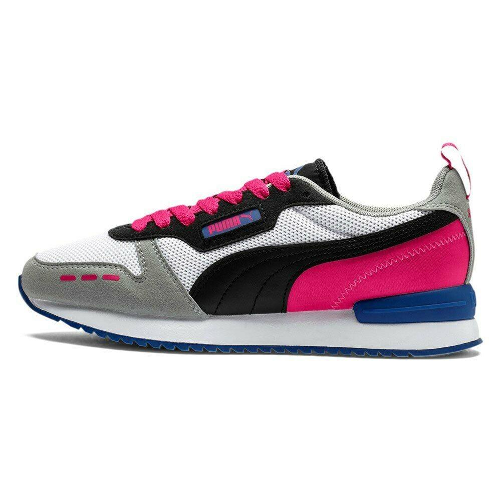 Tenis Puma R78 - White/Black/Beetroot Purple - 37311721
