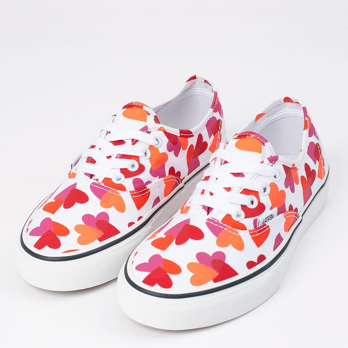 Tênis Vans Authentic Valentines Hearts - True White - VN0A348A40Q