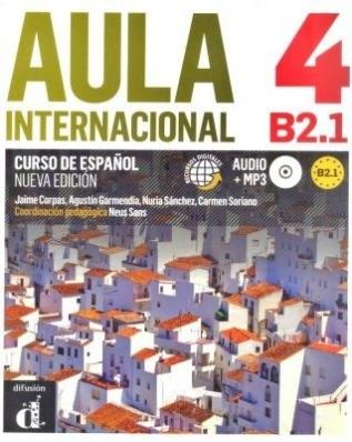 Aula Internacional 4 - Libro Del Alumno Con Cd Audio - Nueva Edición