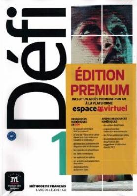 Défi 1 Livre De L'Élève  Premium Avec Cd-1-A1