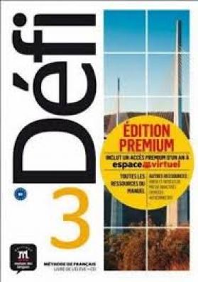 Defi 3 Livre De Leleve Premium Avec Cd-3-B1