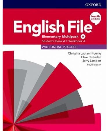English File Elementary A Sb/Wb Multipk 4Ed