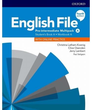 English File Pre-Interm A Sb/Wb Multipk 4Ed
