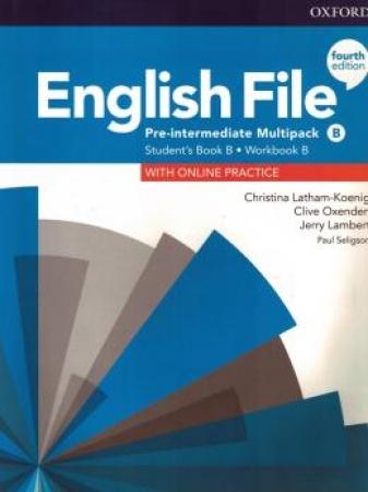 English File Pre-Interm B Sb/Wb Multipk 4Ed
