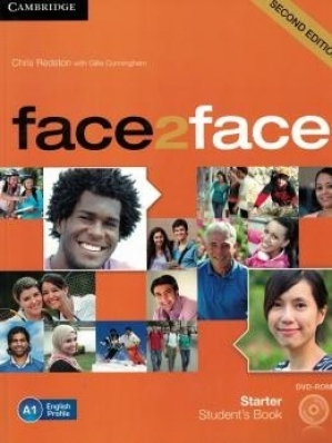 Face2face Starter - Students Book With Dvd-Rom - 2nd Ed