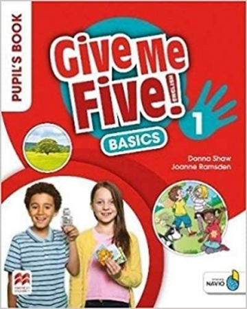 Give Me Five! Pupil'S Book Pack W/Activity Book Basics-1