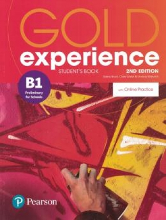 Gold Experience (2Nd) B1 Student Book + Online