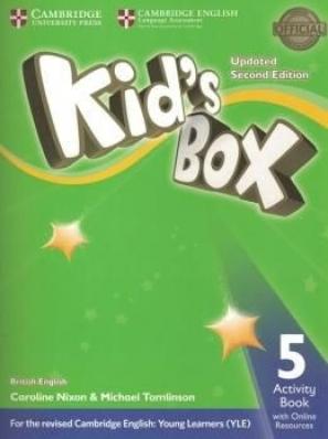 Kids Box 5 AB W Online Resources Up 2ed