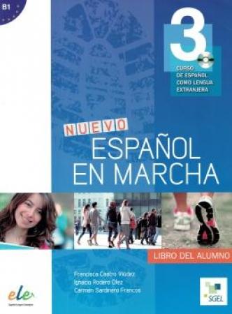 Nuevo Español En Marcha 3 - Libro Del Alumno Con Cd Audio (Brasil)