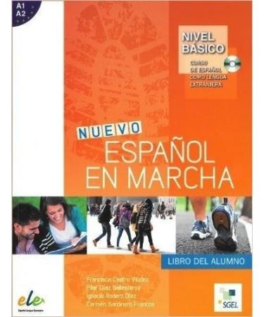 Nuevo Español En Marcha Básico - Libro Del Alumno Con Cd Audio (Brasil)