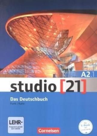 Studio 21 A2.1 - Das Deutschbuch - Kurs Und Ubungsbuchmit Dvd-rom