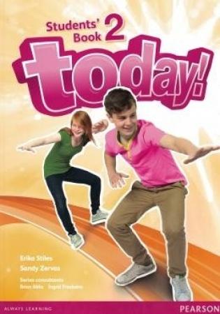 Tweens 1 e 2 - Today! 2 - Students Book + Workbook