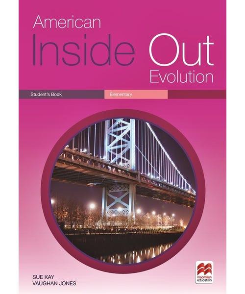 American Inside Out  Ev. Sb Elementary  - Mundo Livraria