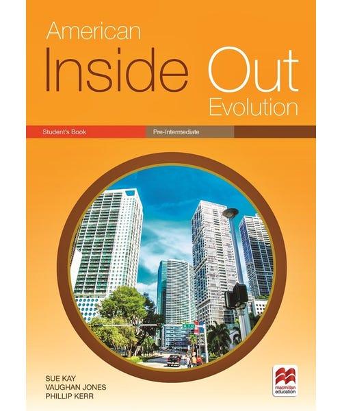 American Inside Out  Ev. Sb Pre-Intermediate  - Mundo Livraria