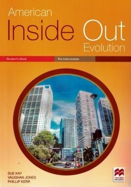 American Inside Out Evolution Pre-Intermediate - Students Pack With Workbook - With Key  - Mundo Livraria