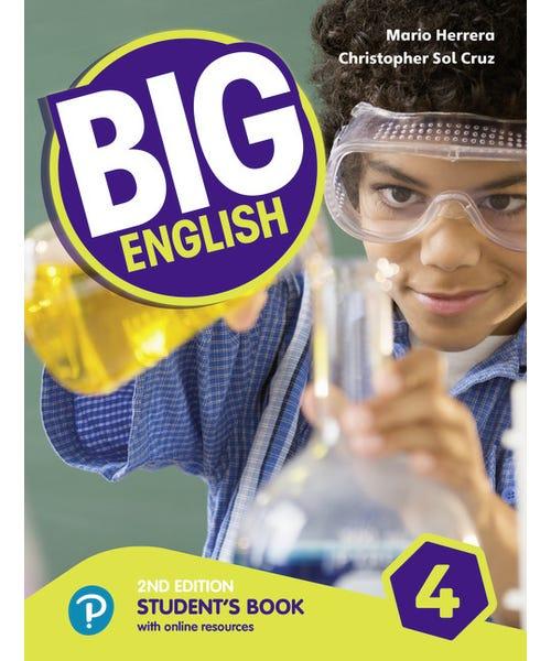 Big English 4 - Students Book 2nd Ame  - Mundo Livraria