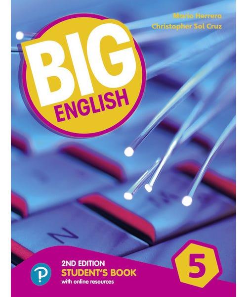 Big English 5 - Students Book 2nd Ame  - Mundo Livraria