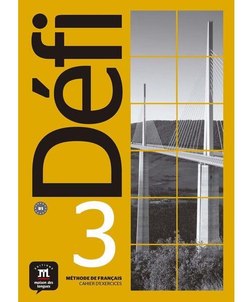 Defi 3 Cahier Dexercices Avec Mp3-3-B1  - Mundo Livraria