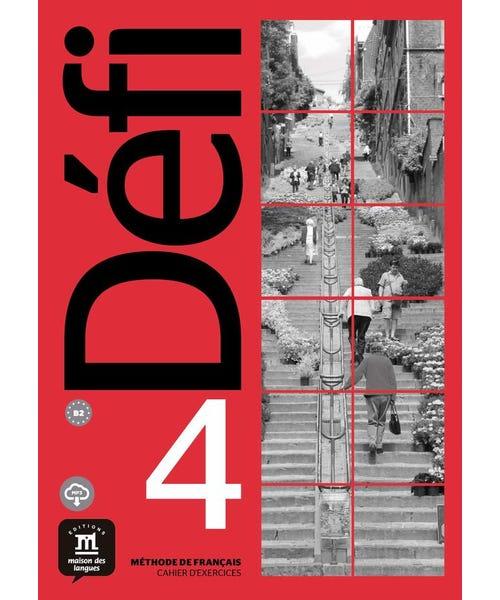 Defi 4 Cahier Dexercices Avec Mp3-B2  - Mundo Livraria