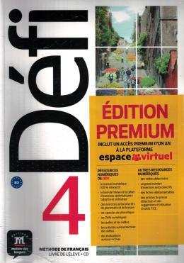 Defi 4 Livre De Leleve Premium Avec Cd-B2  - Mundo Livraria