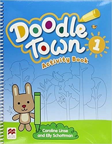 Doodle Town Activity Book-(1)  - Mundo Livraria