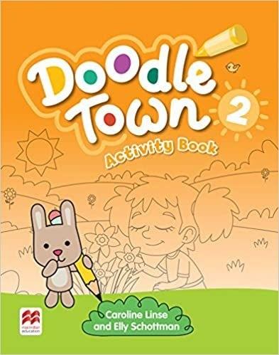 Doodle Town Activity Book-(2)  - Mundo Livraria