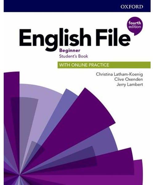 English File Beginner Sb W Online Practice 4Ed  - Mundo Livraria