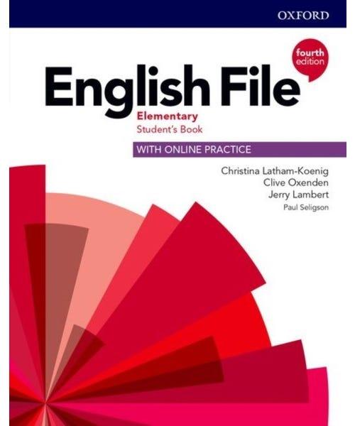 English File Elementary Sb W Online Practice 4Ed  - Mundo Livraria