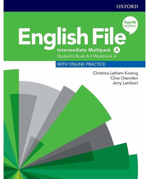 English File Interm A Sb/Wb Multipk 4Ed  - Mundo Livraria