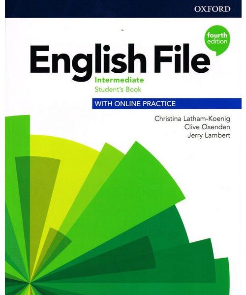 English File Interm Sb W Online Practice 4Ed  - Mundo Livraria