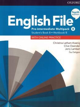 English File Pre-Interm B Sb/Wb Multipk 4Ed  - Mundo Livraria