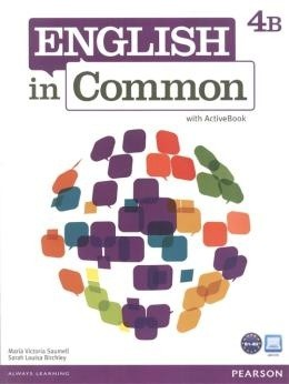 English In Common 4B - Student Book With Workbook And Activebook  - Mundo Livraria