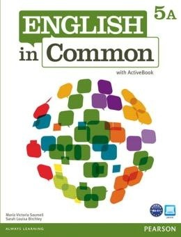English In Common 5A - Student Book With Workbook And Activebook  - Mundo Livraria