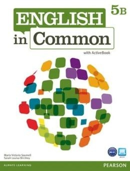English In Common 5B - Student Book With Workbook And Activebook  - Mundo Livraria