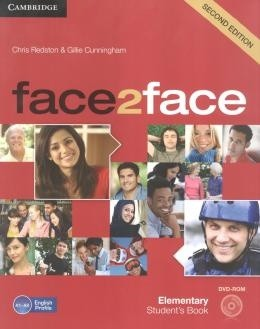 Face2face Elementary - Students Book With Dvd-Rom - 2nd Ed  - Mundo Livraria
