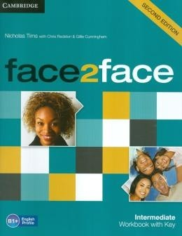 Face2face Intermediate - Workbook With Key - 2nd Ed  - Mundo Livraria