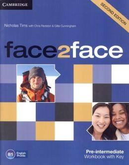 Face2face Pre-Intermediate - Workbook With Key - 2nd Ed  - Mundo Livraria
