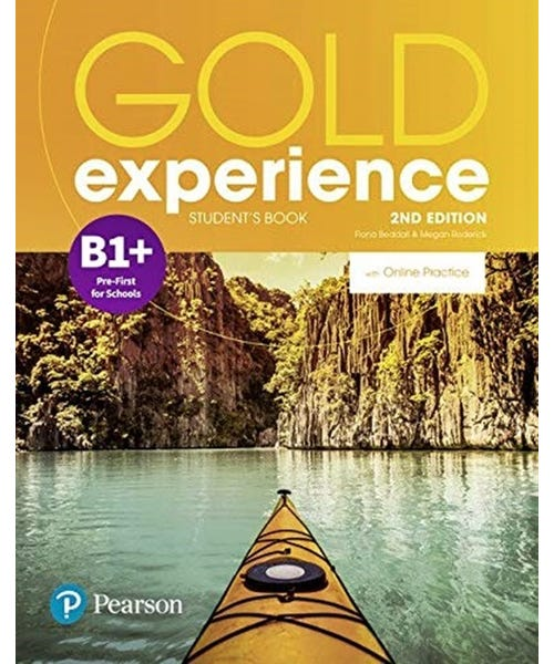 Gold Experience (2Nd) B1+ Student Book + Online  - Mundo Livraria